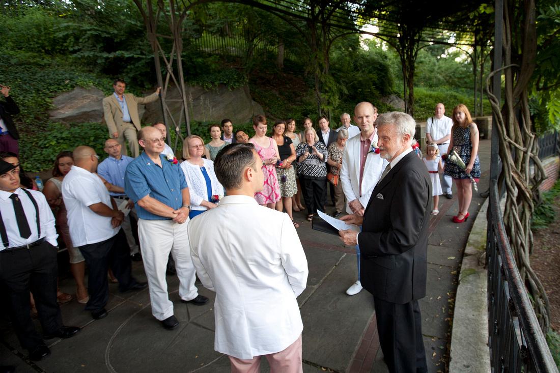 July 4th Gay Wedding