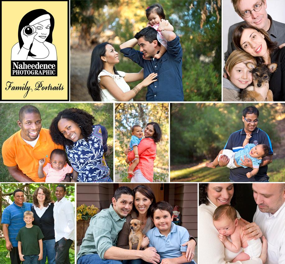 Family Portrait Sessions Los Angeles