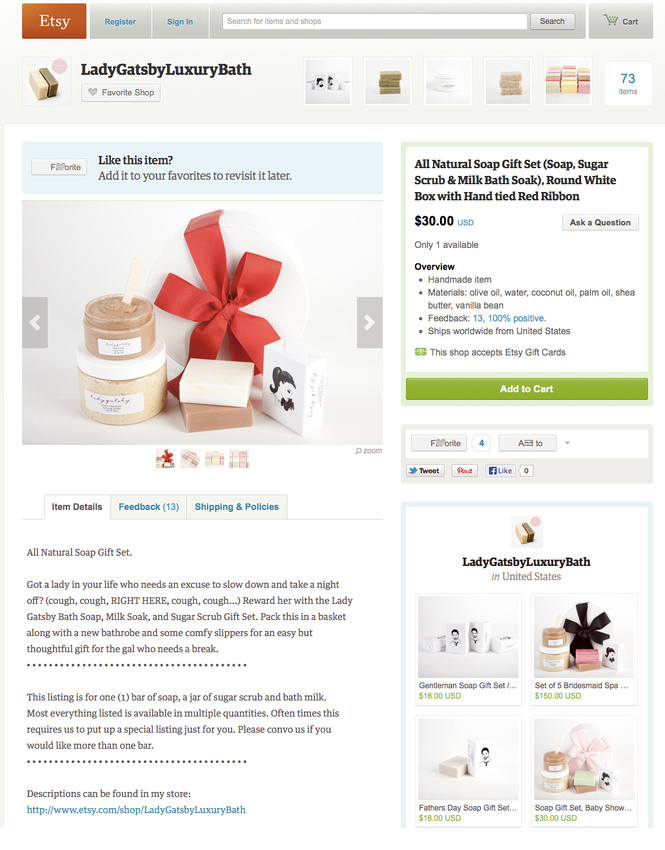 Etsy Product Photography Packages